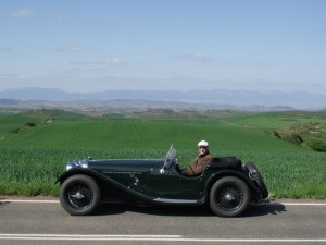 HSU 419 completed and touring Northern Spain
