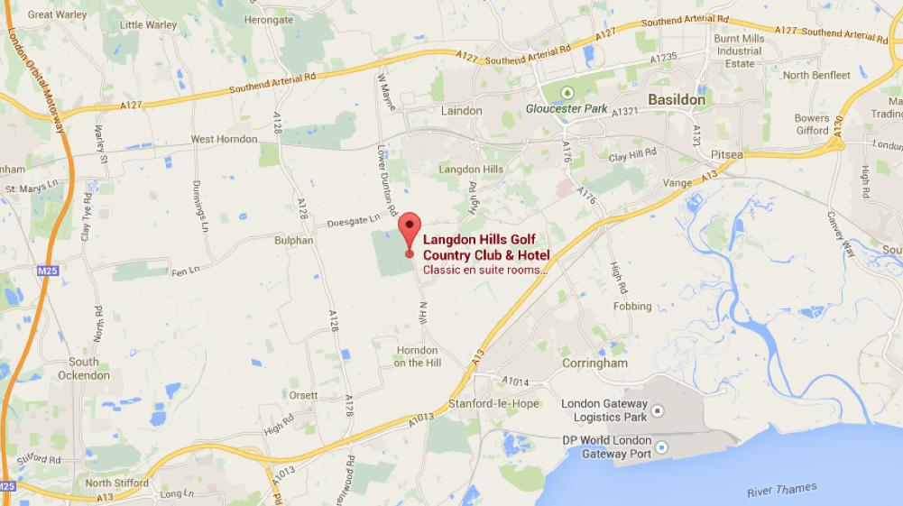 Langdon Hills location
