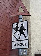 170px-Old-style_School_Road_Sign_Glastonbury