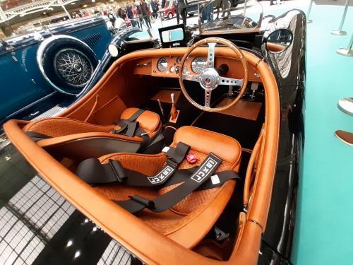 Jaguar XK120 interior - Olympia 2020