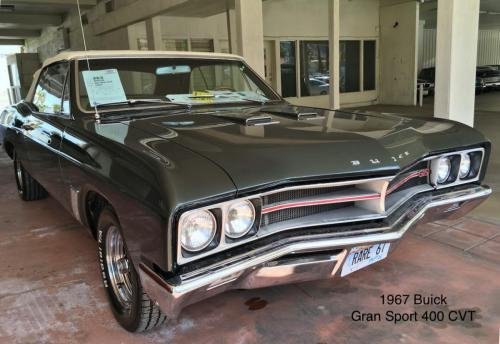 1967 Buick Gran Sport 400 CVT