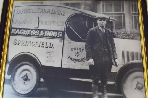 Lester's family's milk distribution business