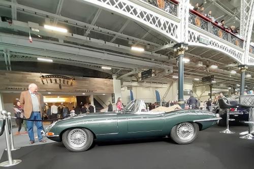 Jaguar E Type - Olympia 2020