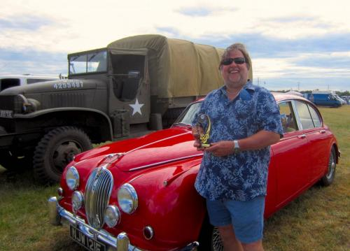 Geoff and Mary Monk - Jaguar Mk2