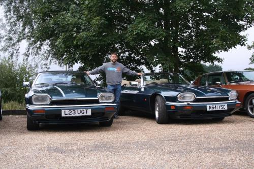 Steve Potter and Neil Shanley - 2 x XJS