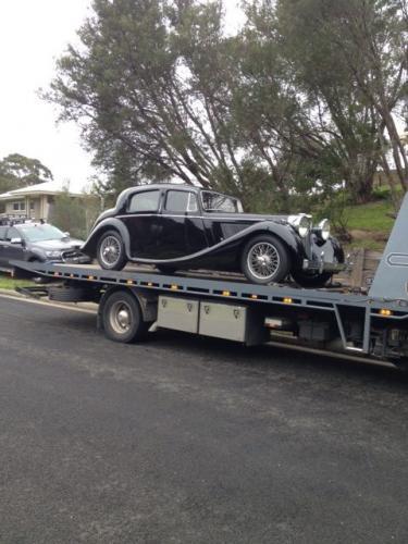 Removing the Jaguar Mk IV from Australia