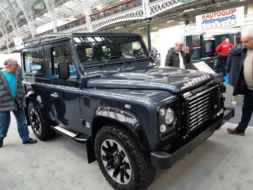 land rover - Olympia 2020