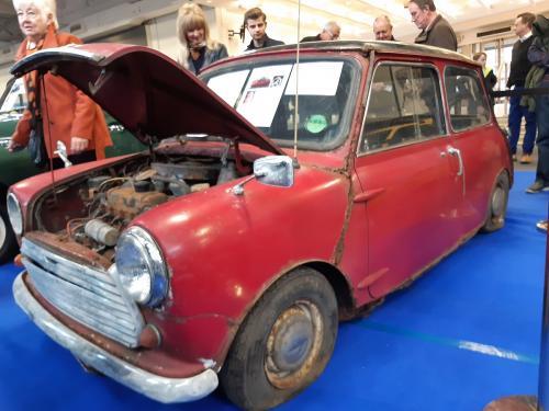 Wrecked Mini Cooper - Olympia 2020